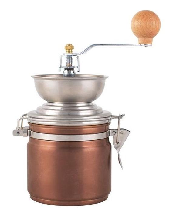 La Cafetiere ORIGINS - Młynek do kawy w kolorze miedzianym
