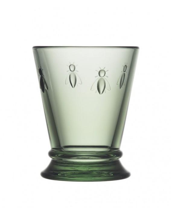 Pszczoła, szklanka zielona 185ml