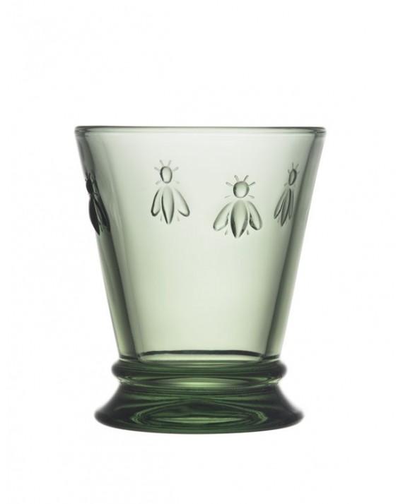 Pszczoła, szklanka zielona 260ml