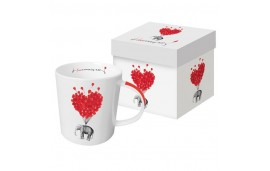 "Love Kubek w pudełku ""Love carries all"" 350ml"