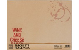 Podkładka papierowa kpl.12 szt 42x32 cm