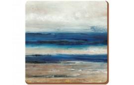 Blue Abstract Podkładki (6) 10,5x10,5cm