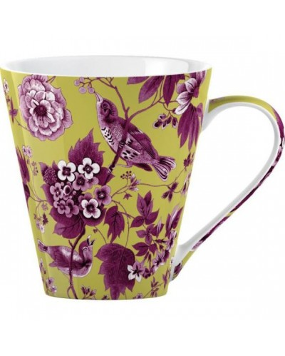 V&A Garden Birds Kubek lime green