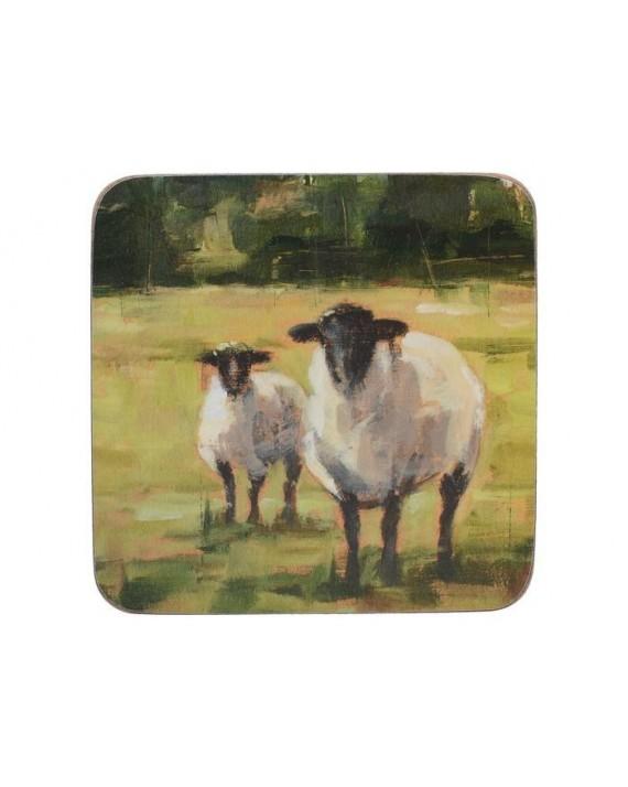 Owieczka Podkładki (6) 10.5x10.5cm