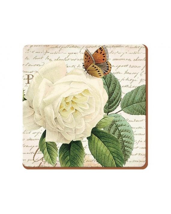 Rose Garden Podkładki (6) 10,5x10,5cm