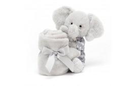 Słonik w ubranku szmatka przytulanka 34cm