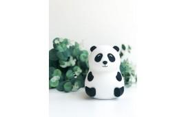 Lampka silikonowa - panda